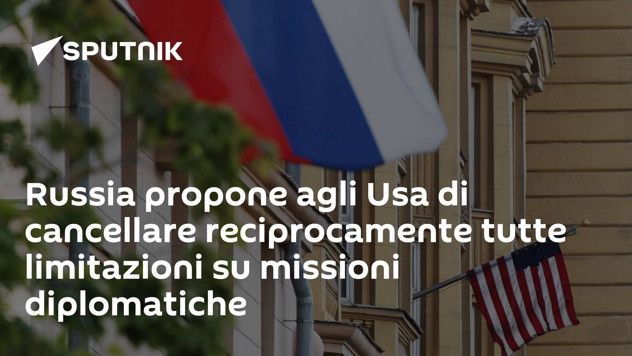Russia proposes to the United States to mutually cancel all restrictions on diplomatic missions