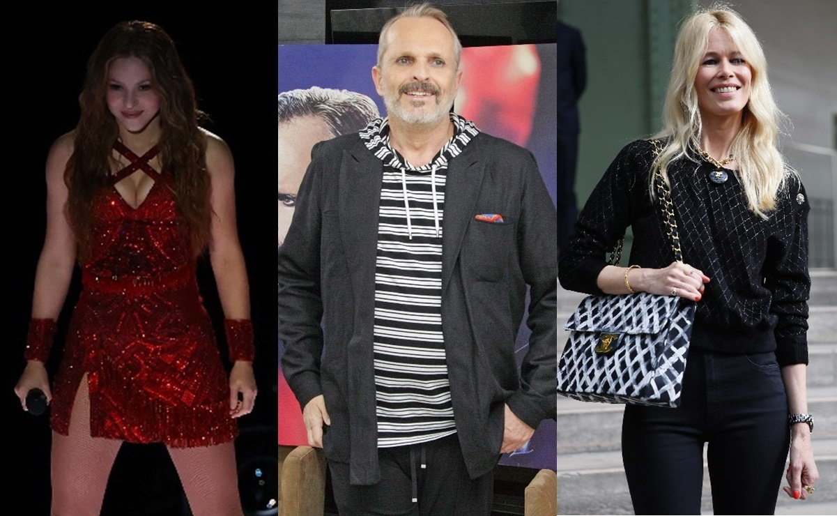 Shakira Miguel Bosé and Claudia Schiffer join the list
