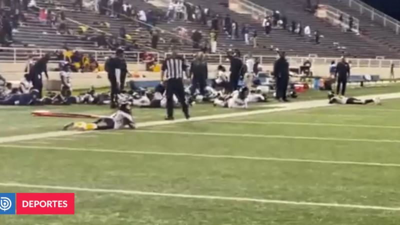 Shooting caused panic at American football game: at least four injured |  Sports