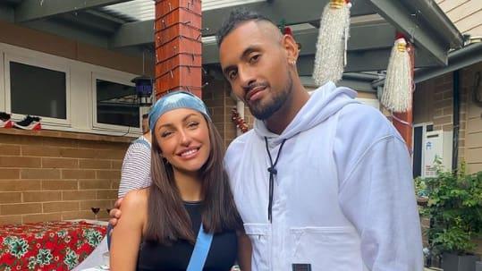 Tennis: Police must separate Kyrgios from his model girlfriend