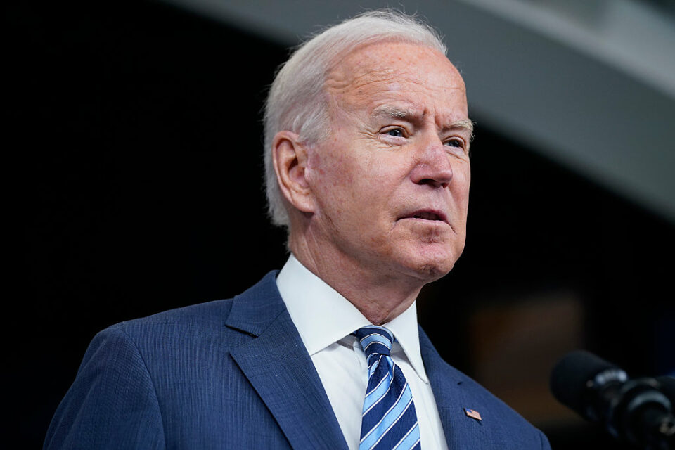 The Biden administration lifted sanctions on two Iranian companies
