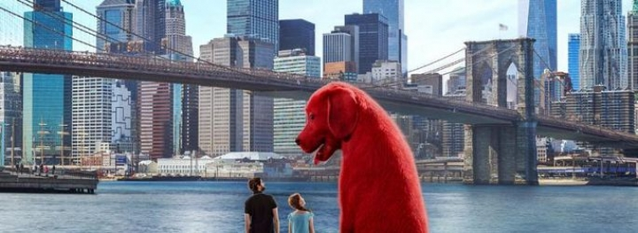 The Big Red Dog in the Room: The Big Red Dog Clifford in the Trailer