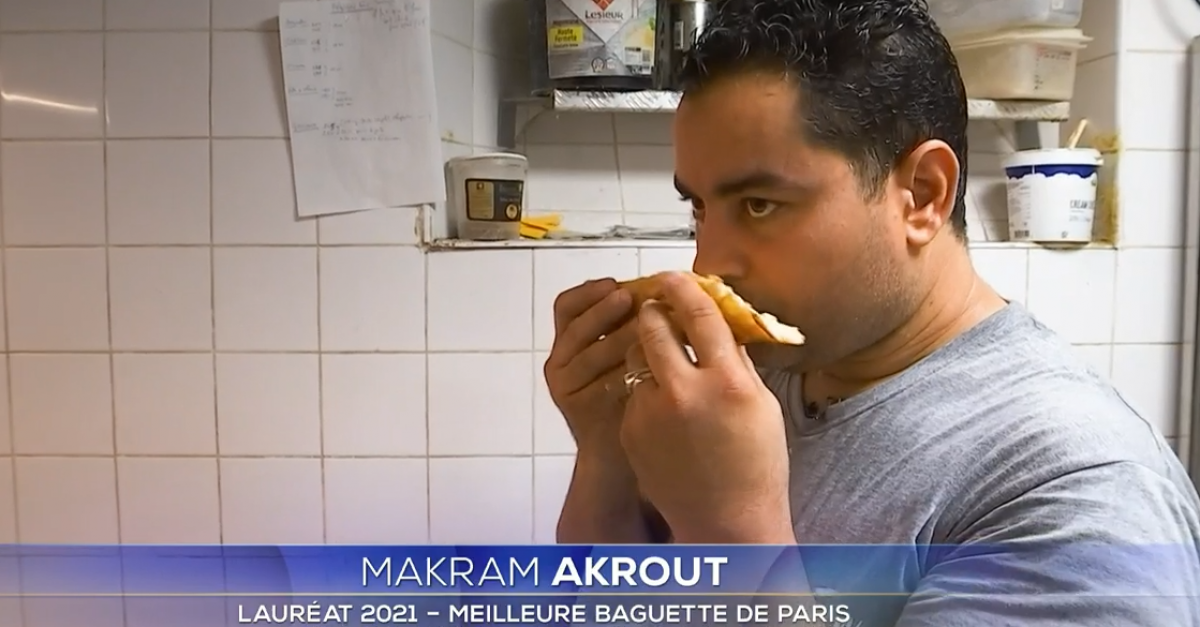 The winner of the best baguette in Paris goes from success to controversy after revealing screenshots from his Facebook account