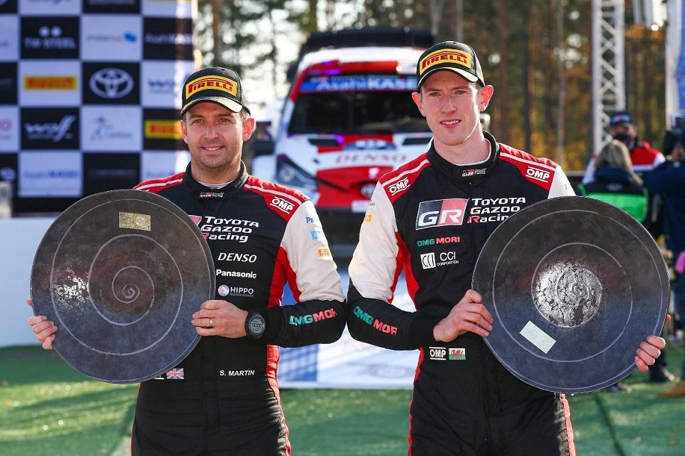 Toyota Gazoo Racing wins the Finland Rally and takes the drivers title on PortalAutomotriz.com