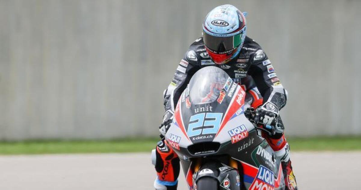 USA Grand Prix: Schrotter surrenders in Moto2